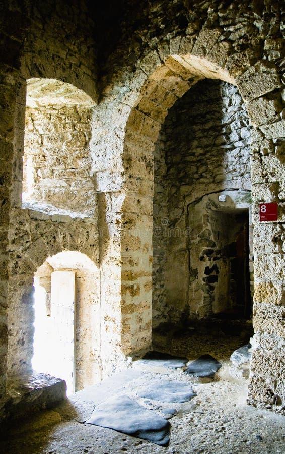 chateauchillon arkivbild