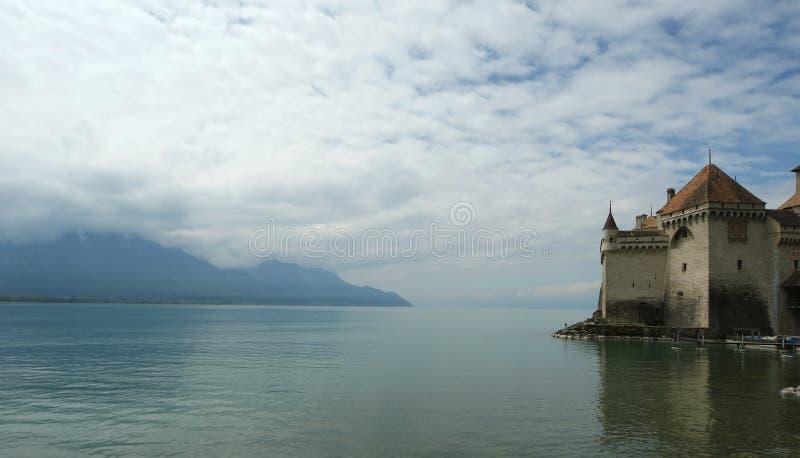chateauchillon de switzerland arkivfoton