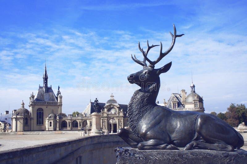 Chateaude Chantilly lizenzfreie stockfotos