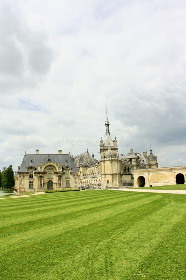 Chateaude Chantilly, Frankreich lizenzfreies stockfoto