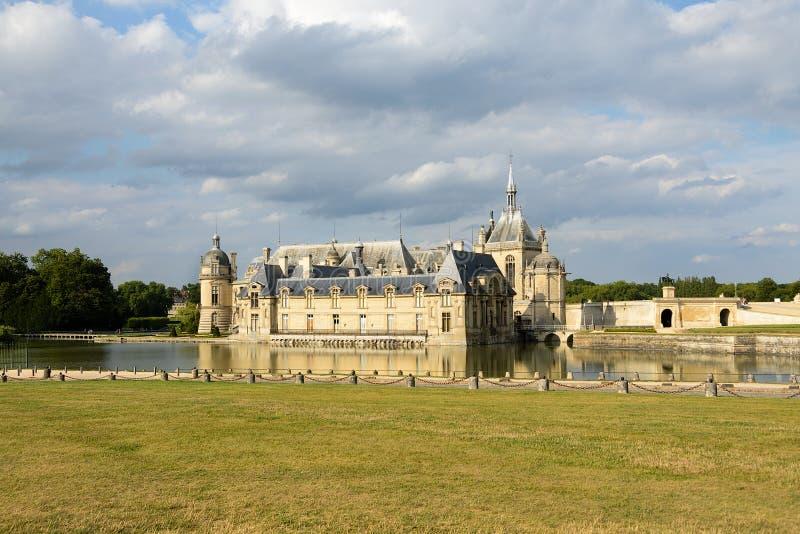 Chateaude Chantilly, Frankreich lizenzfreie stockfotografie