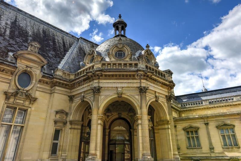 Chateaude Chantilly - Frankreich lizenzfreie stockfotos