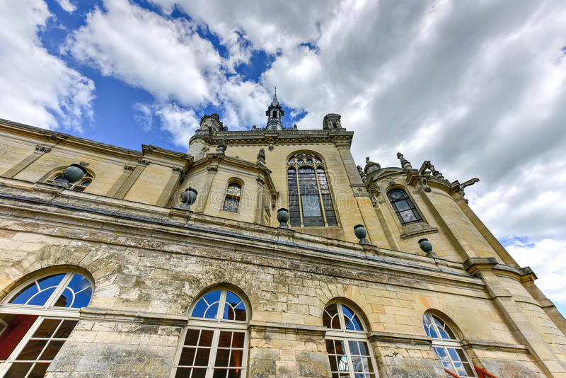 Chateaude Chantilly - Frankreich stockfoto