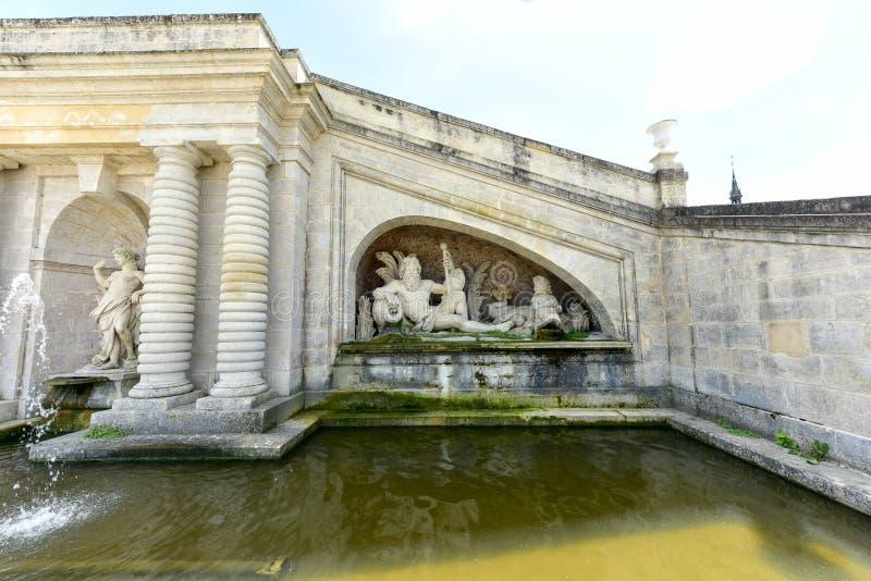 Chateaude Chantilly - Frankreich lizenzfreies stockbild