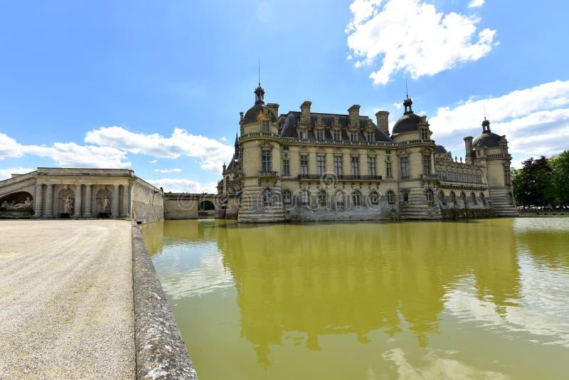 Chateaude Chantilly - Frankreich lizenzfreie stockfotografie