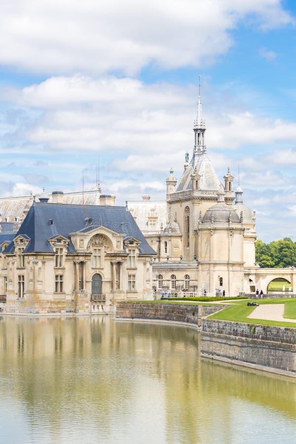 Chateaude Chantilly Paris stockfoto