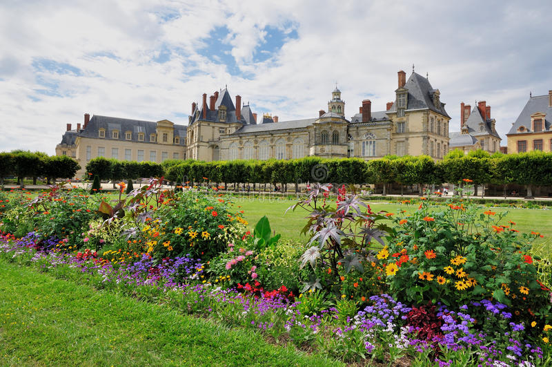 Chateaude Fontainebleau lizenzfreies stockfoto