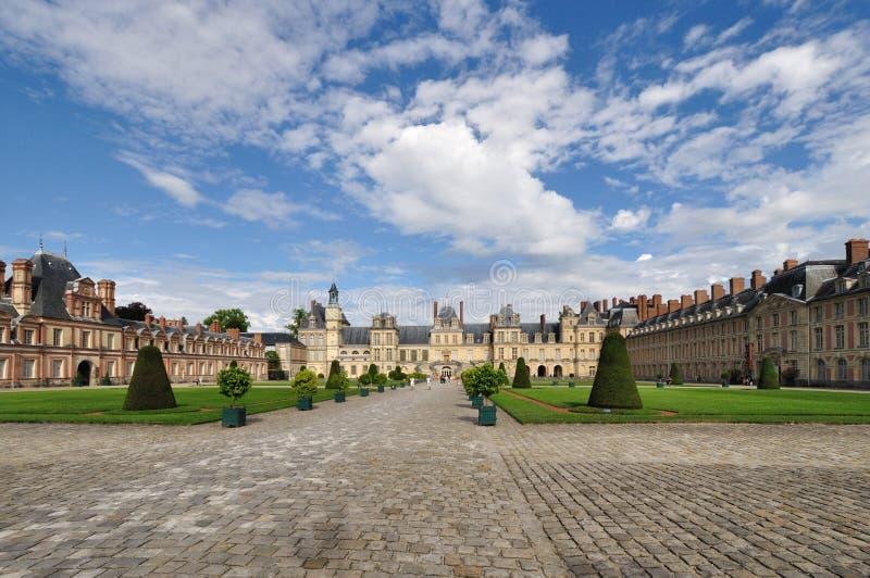 Chateaude Fontainebleau lizenzfreies stockbild