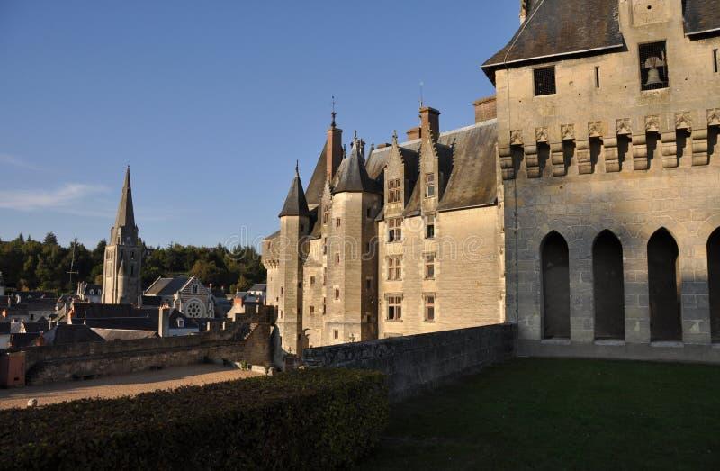 chateaulangeais arkivbild