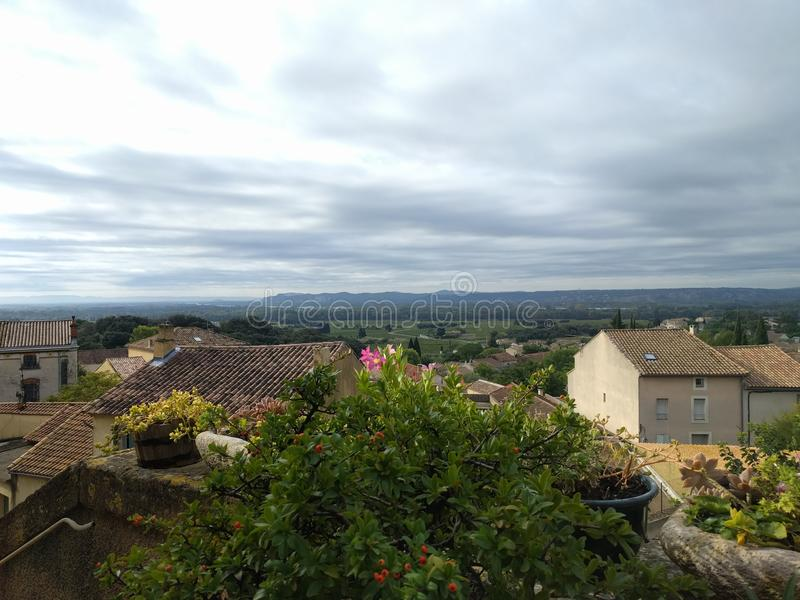 Chateauneuf du Pape стоковая фотография rf