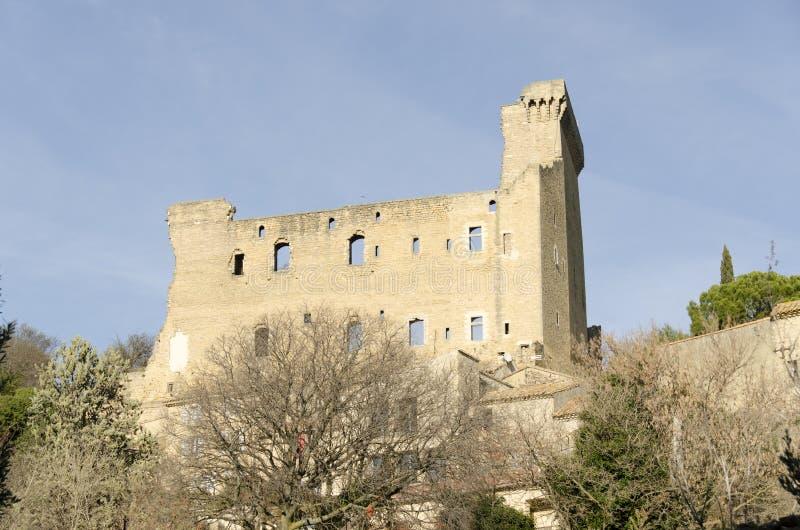 Chateauneuf-DU-Pape in Provence, Frankreich stockbilder