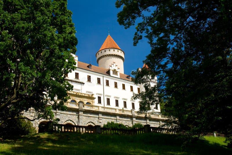 chateautjeckrepublik fotografering för bildbyråer