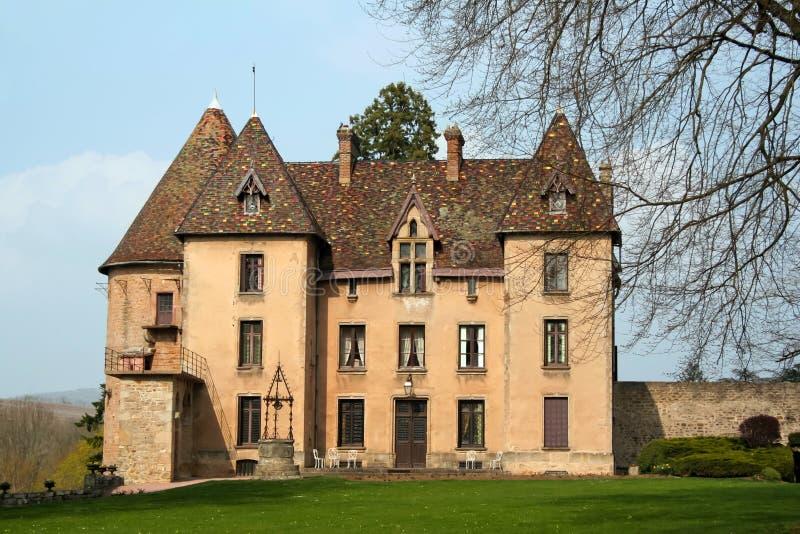 chateauu de Couches 库存照片