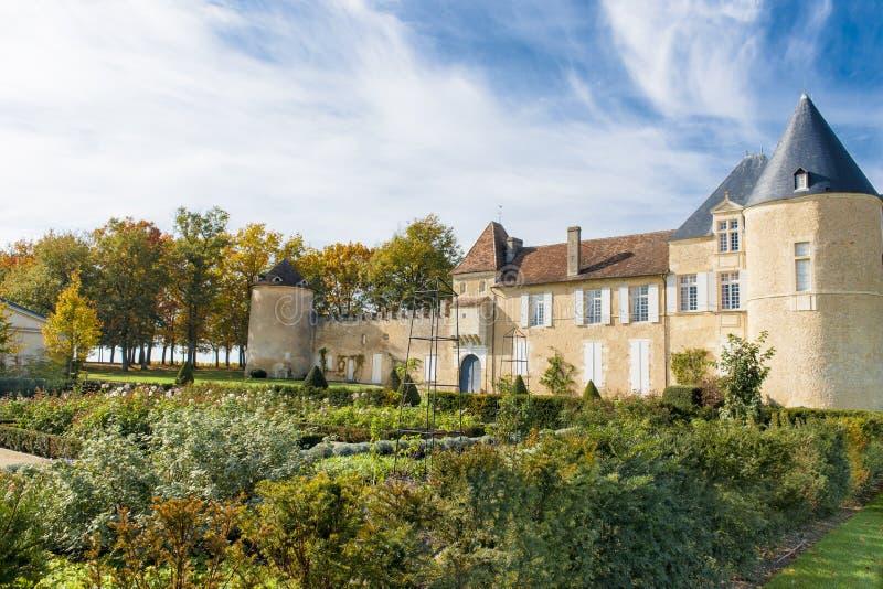 Górska chata d Yquem, Francja obraz royalty free