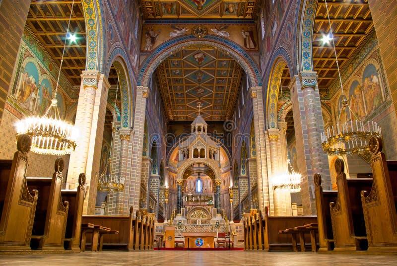 Chatedral à l'intérieur images stock
