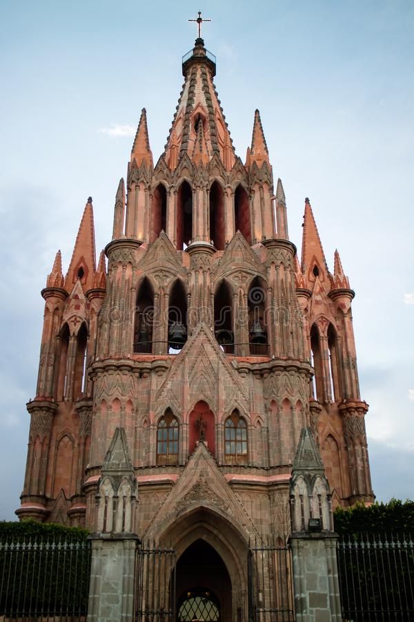 Chatedral dans San Miguel images stock