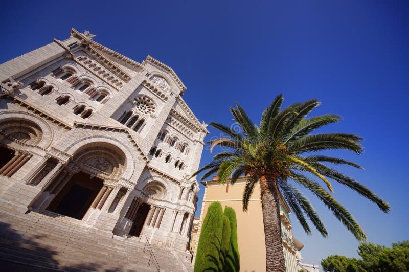 Chatedral i Monte - carlo arkivfoto