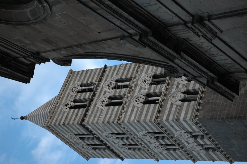 Chatedral Viterbo stock foto