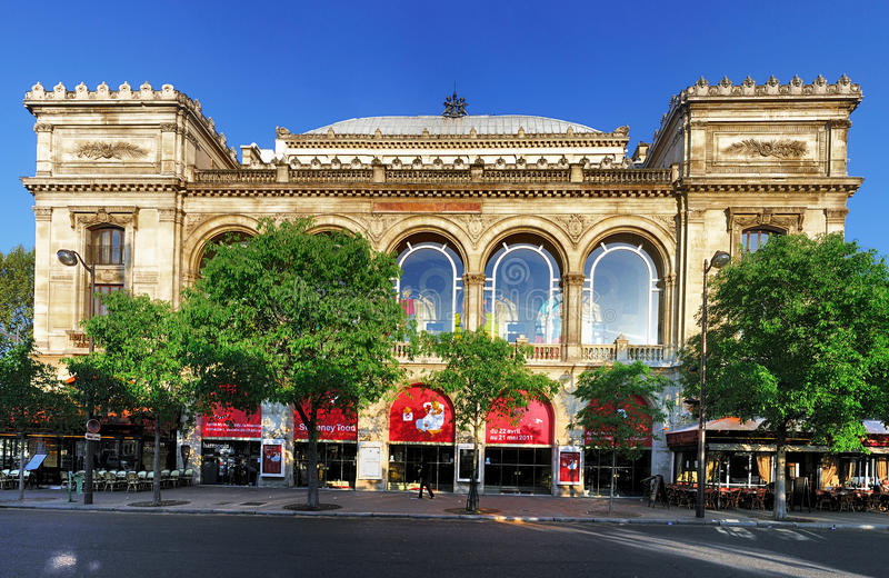 Chatelet Theatre, Paris royalty free stock photography