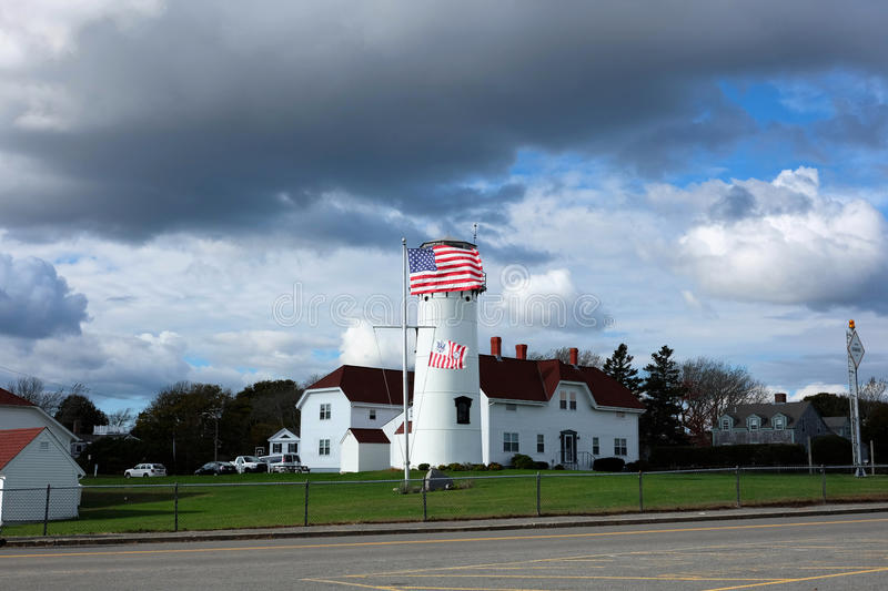 Chatham Lighthouse at Cape Cod. Chatham Lighthouse, built in 1808, Cape Cod, Massachusetts royalty free stock photos