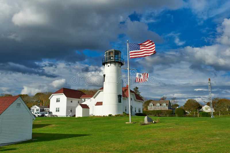 Chatham Lighthouse at Cape Cod. Massachusetts royalty free stock images