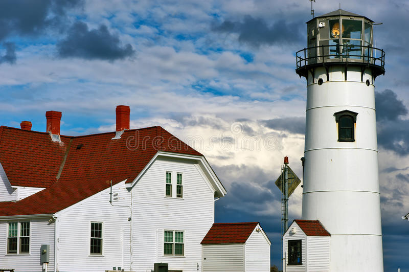 Chatham Lighthouse at Cape Cod. Massachusetts stock images