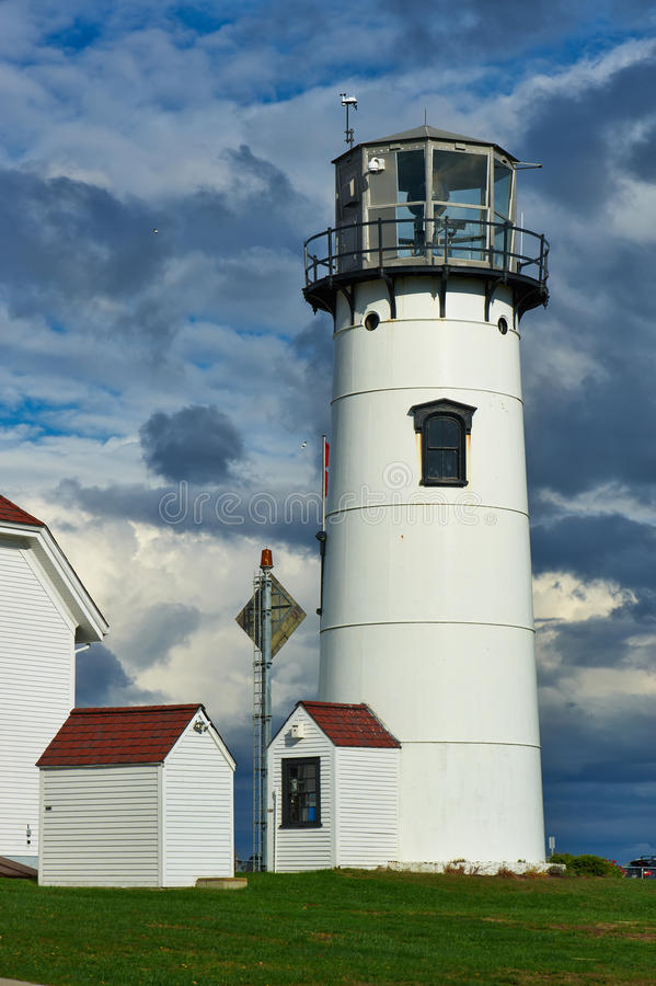 Chatham Lighthouse at Cape Cod. Massachusetts stock photo