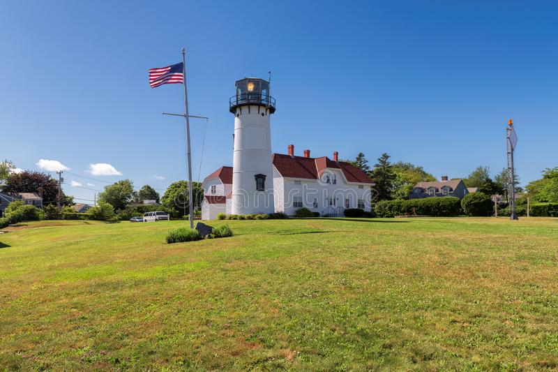 Chatham Lighthouse, Cape Cod, USA. Beautiful Chatham Lighthouse, Cape Cod, Massachusetts, New England, USA royalty free stock image