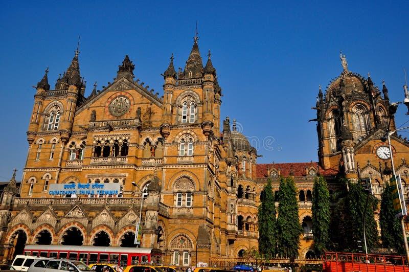 Chatrapati Shivaji终点孟买 图库摄影