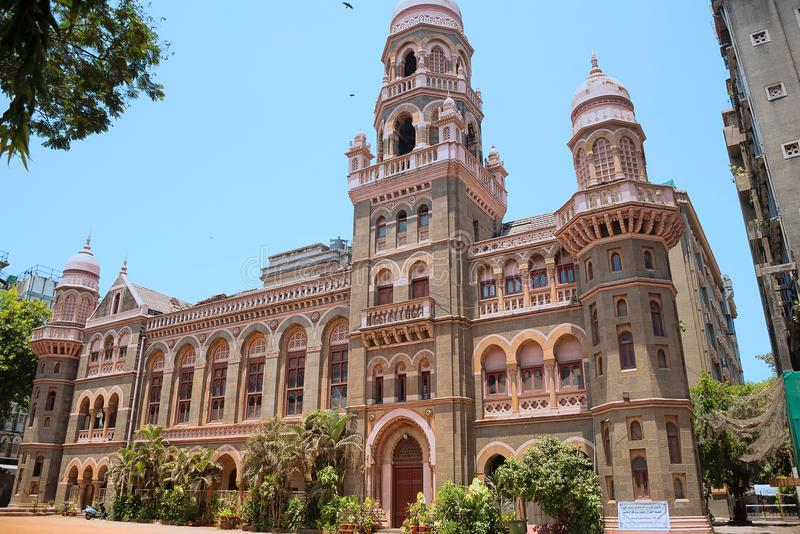 Chatrapati Shivaji Terminal, Bahnhof CST, Victoria Terminal-Mumbai, Maharashtra lizenzfreies stockfoto