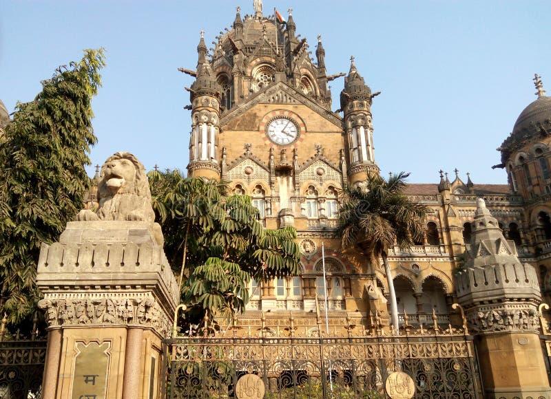 Chatrapati-shivaji Terminal (CST) Mumbai Indien stockfoto