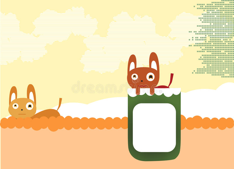 Chats mignons illustration stock