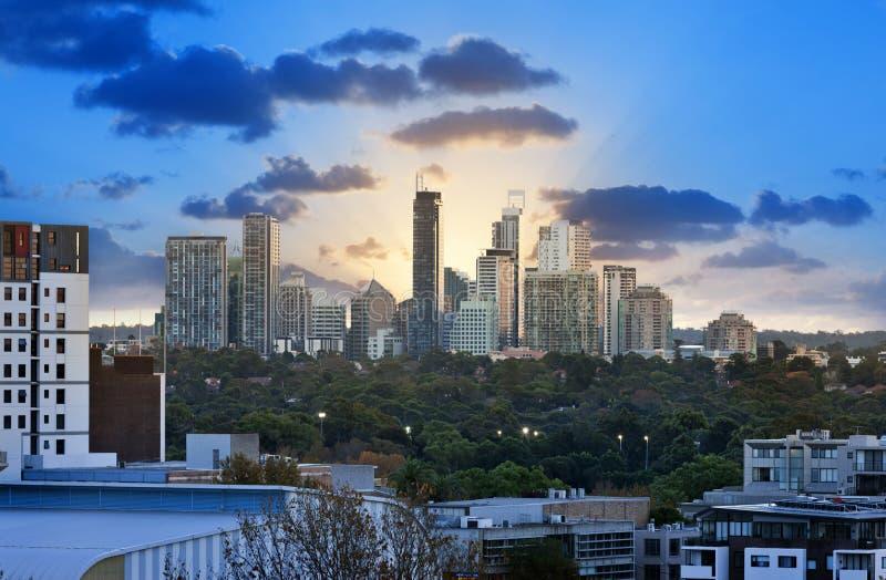 Chatswood Sydney Australia arkivfoto