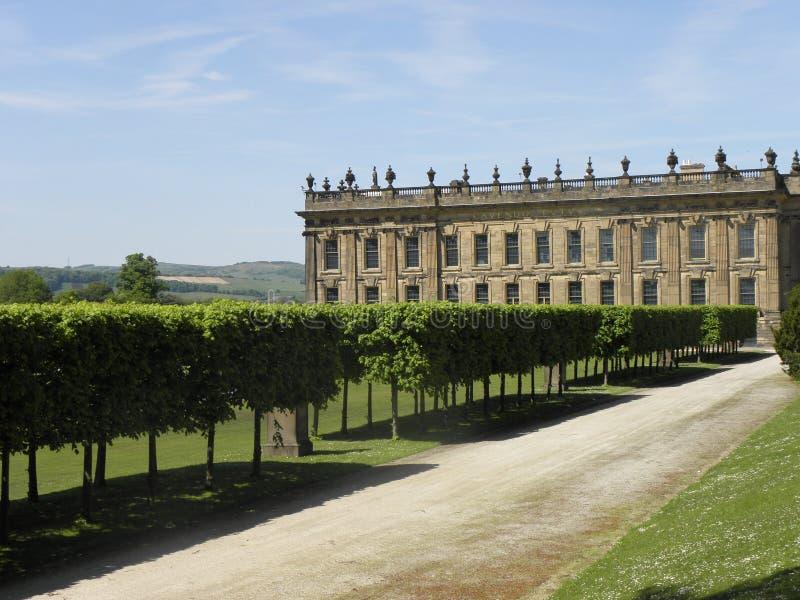 Chatsworth Haus stockbilder