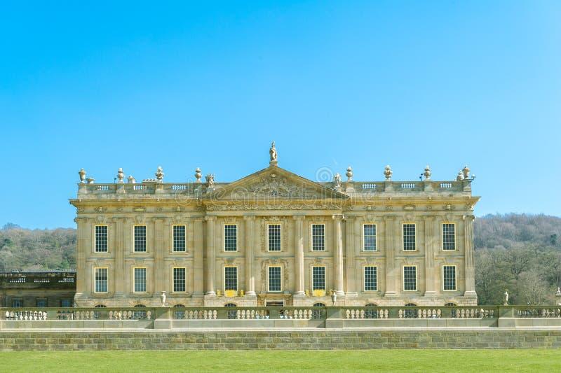 Chatsworth Haus stockfotografie