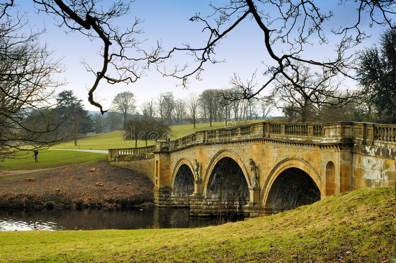 Chatsworth House & Garden Estate royalty free stock images