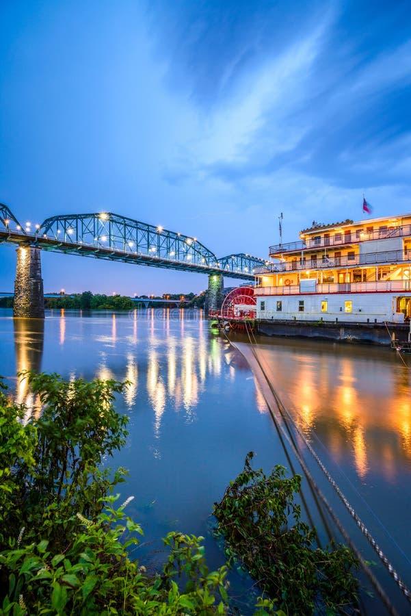 Chattanooga, Теннесси, США стоковое фото rf