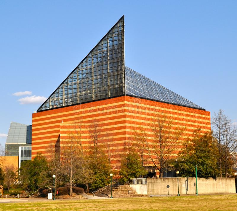 Chattanooga Aquarium. Side view of Chattanooga Aquarium stock image