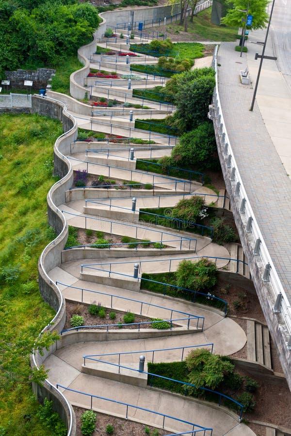 Chattanooga gångbana arkivfoton