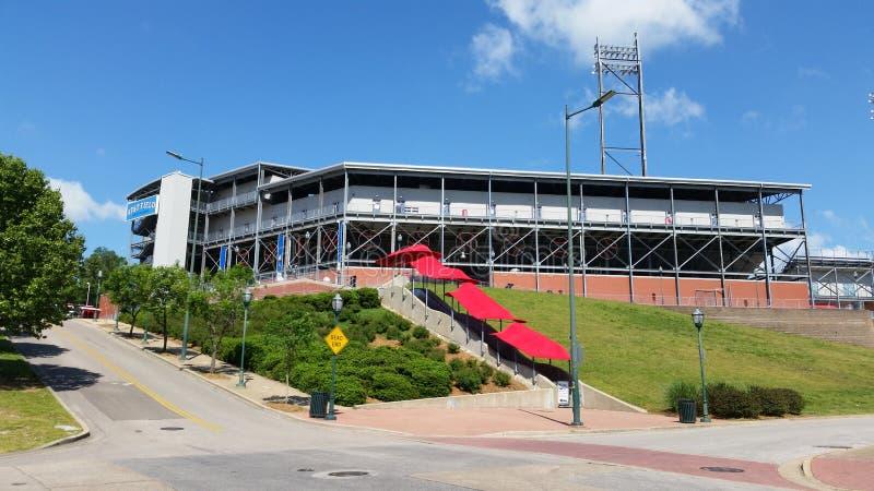 Chattanooga Tennessee punktu obserwacyjnego baseballa pole zdjęcia stock