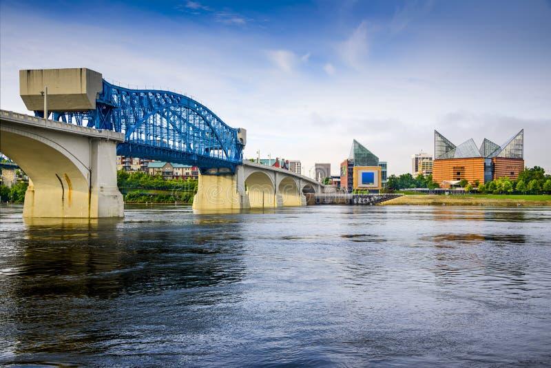 Chattanooga Tennessee, USA royaltyfria foton