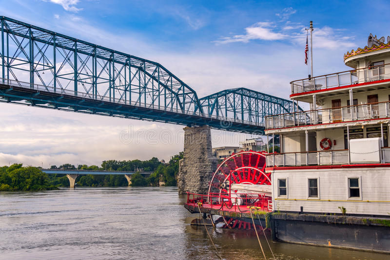 Chattanooga Tennessee, USA royaltyfri bild