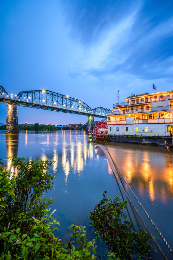 Chattanooga, Tennessee, usa zdjęcie royalty free
