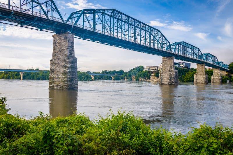 Chattanooga Tennessee, USA fotografering för bildbyråer