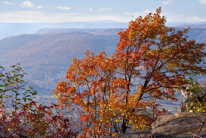 Chattanooga w jesieni fotografia stock
