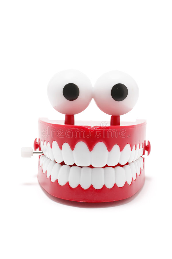 Chattering Teeth stock photos
