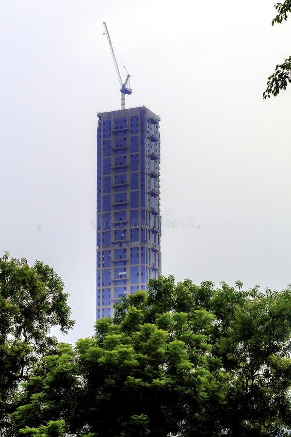 CHATTERJEE MIĘDZYNARODOWY CENTRE KOLKATA, INDIA AZJA, SIERPIEŃ 31 2018,/-: Ostatnio odnawiący i całkowicie nowy nowożytny spojrze fotografia royalty free