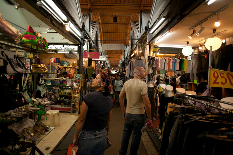 Chatuchak Wochenenden-Markt lizenzfreies stockfoto