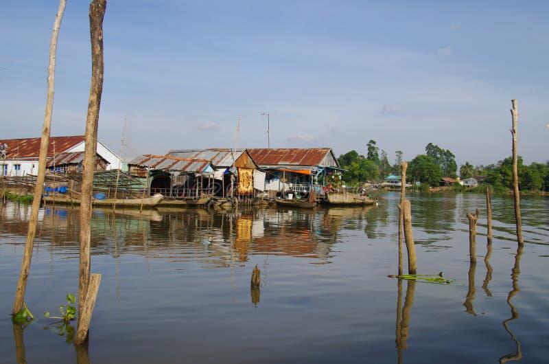 Chau Doc城镇  库存图片
