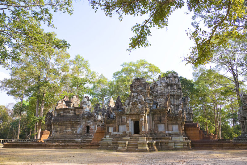 Download Chau Say Tevoda Temple, Cambodia Stock Photos - Image: 8610153
